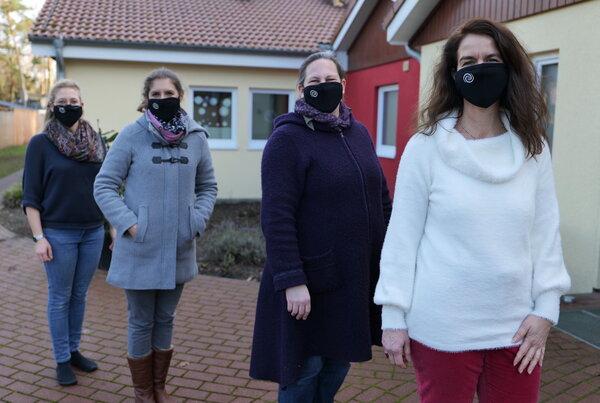 Echo Artikel – Förderverein spendet Masken
